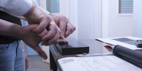 Fingerprints for visa applications