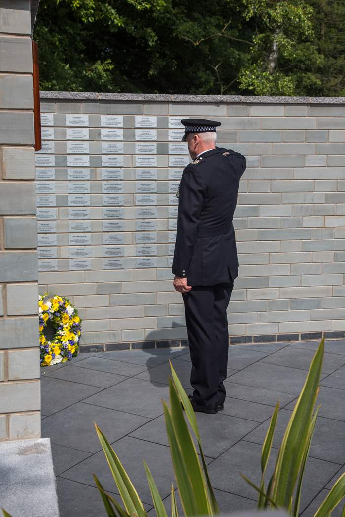 A memorial garden paying tribute to officers who have lost their lives in the line of duty has been unveiled at Lancashire Constabulary Headquarters.         The garden features a memorial wall with individual plaques for fallen officers and a fountain in the centre. The plaques are inscribed with...
