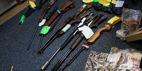 Over 100 guns taken off Lancashire's streets