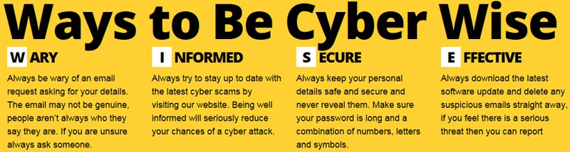 Ways to Be Cyber Wise