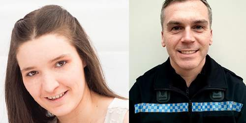 Pair Recognised for Bravery