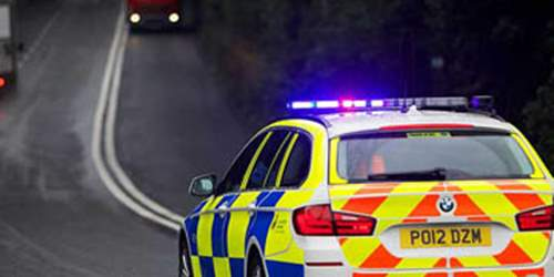 Four injured in Blackburn collision