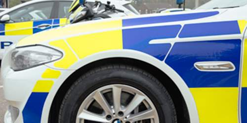 Appeal after car collides with wall in Bamber Bridge