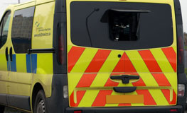Lancashire Police Speed Camera Van