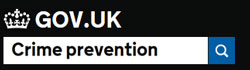 Crime Prevention Gov.UK